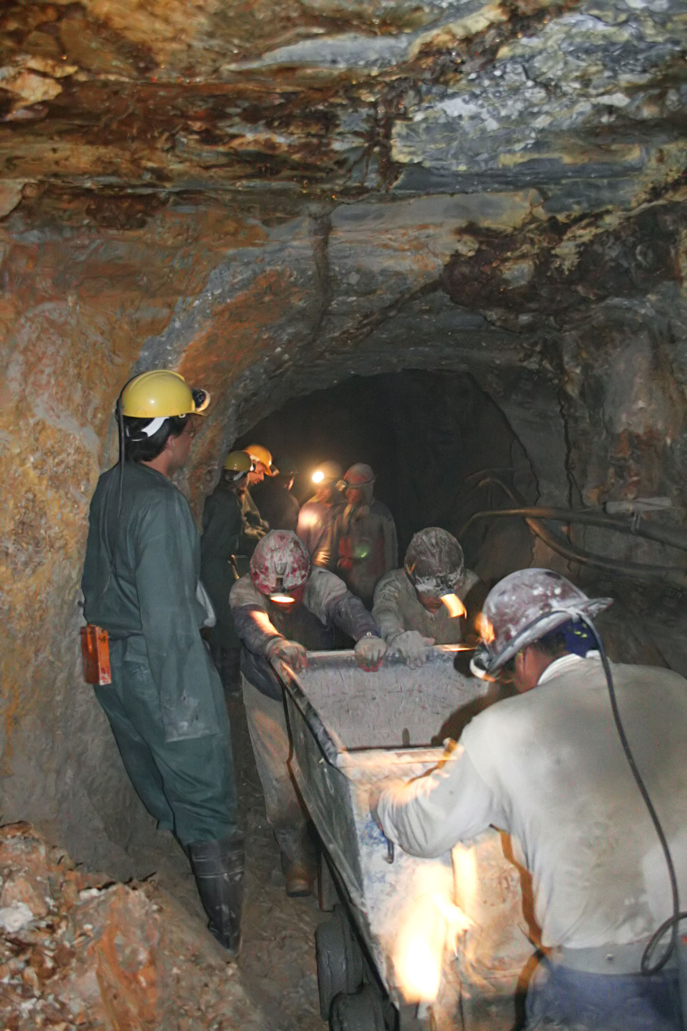 injuries  illnesses  and fatal injuries in mining in 2010
