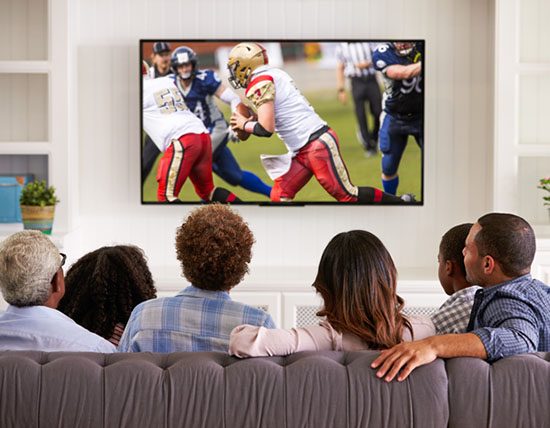 Television Capturing Americas Attention At Prime Time
