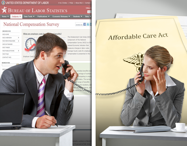 The National Compensation Survey and the Affordable Care Act