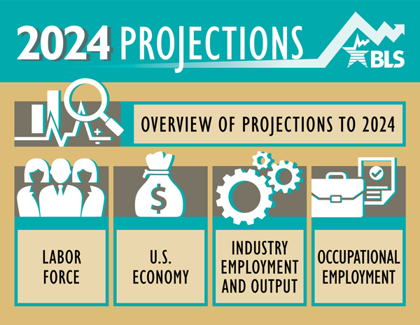 labor force projections to 2024  the labor force is