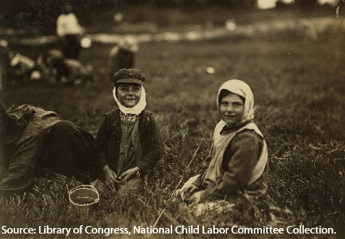 History of child labor in the United States—part 1: little