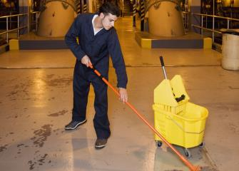 Building and grounds cleaning and maintenance occupations