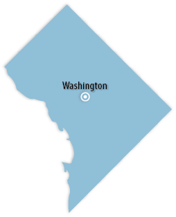 District Of Columbia Area Map