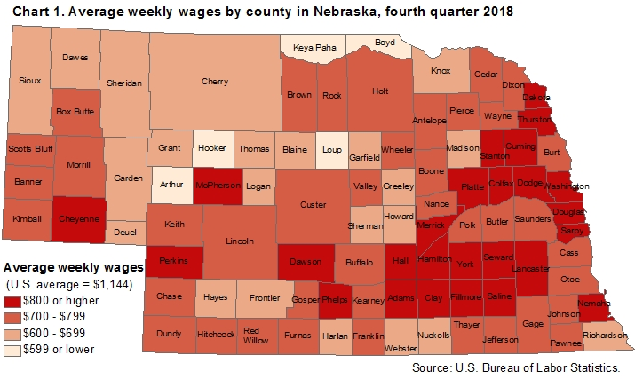 County Employment and Wages in Nebraska — Fourth Quarter