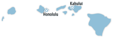 Hawaii Area Map