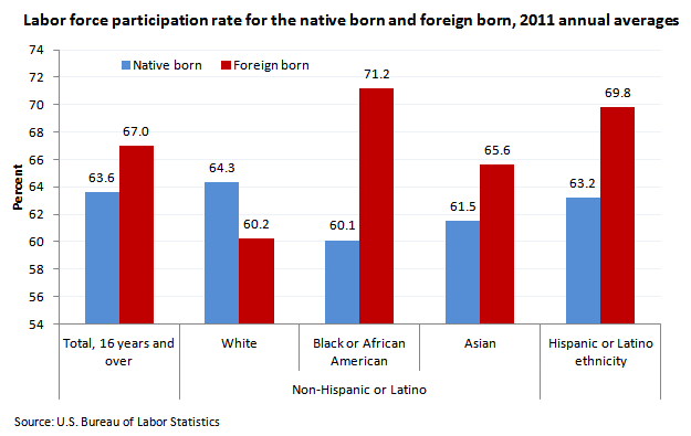 Foreign Born - Labor Force Participation