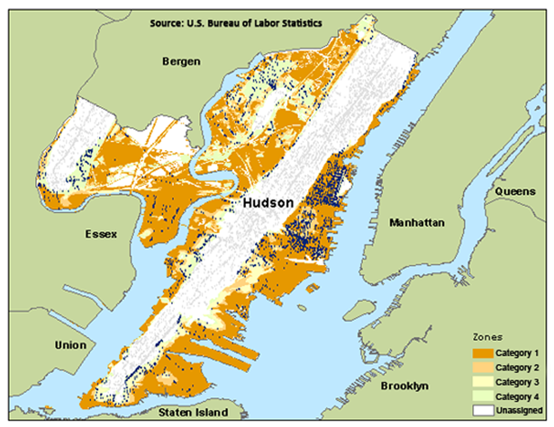 Hudson flood zone
