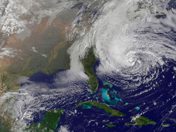 Hurricane Sandy: A Pre-storm Look at Affected Areas image